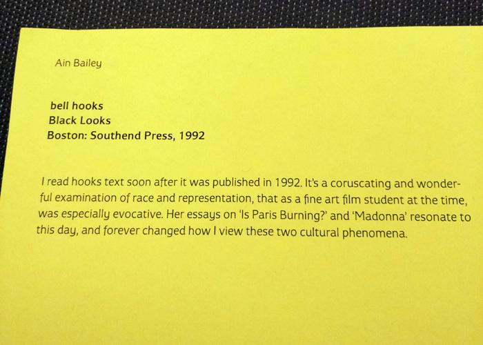 Ann Baily: bell hooks