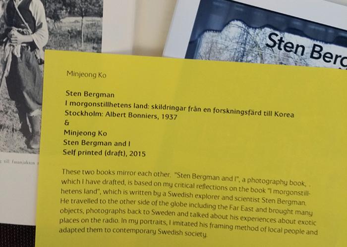 Minjeon Ko: Stenbergman and I
